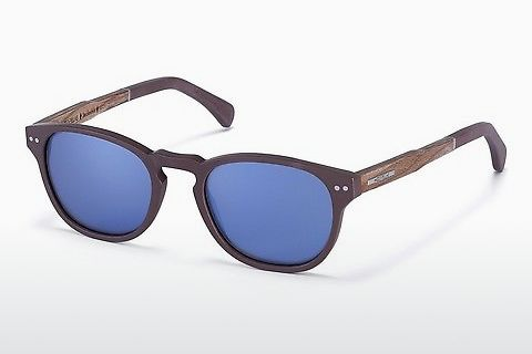 Gafas de visión Wood Fellas Stockenfels (10771 zebrano)